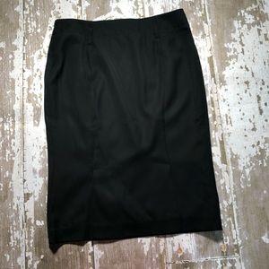 Tom Ford High Waist Pencil Skirt Flare Bottom 12